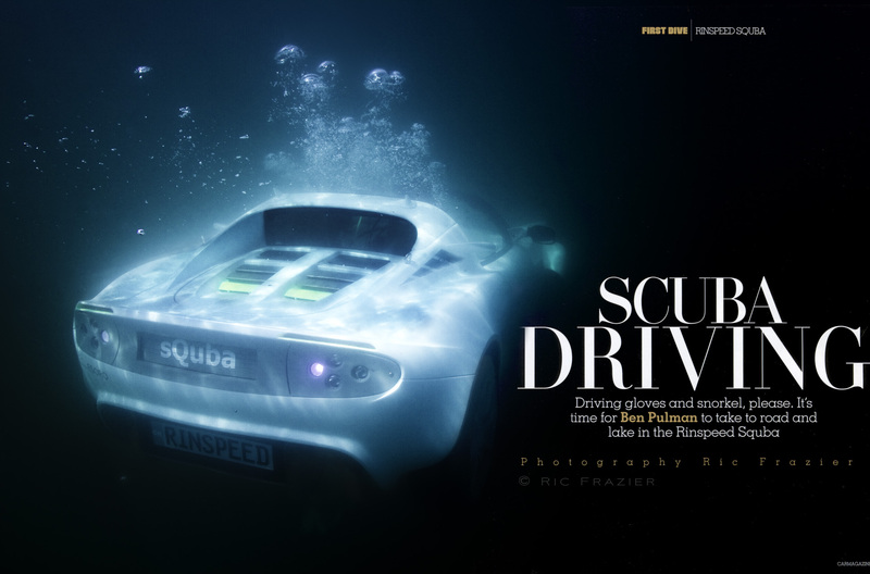 underwater photography Car Magzine sQuba